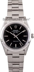 Men's Rolex Air-King Stainless Steel 14000, Pre-Owned