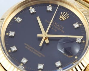 Vintage 14K Yellow Gold Rolex Date 15037