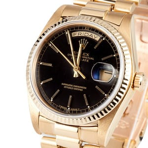 Used Men's Rolex President Gold Day-Date Model 18038