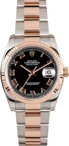 Rolex Rose Gold Datejust 116231