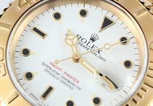 Mens 18k Yellow Gold Yacht-Master 16628