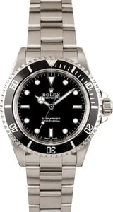 Unworn Rolex Submariner No Date