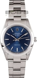 Rolex Air-King 14000 Blue Dial