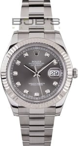 New Model Rolex Datejust II Diamond Dial 116334