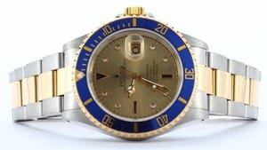 Rolex Submariner With Serti Dial 16613