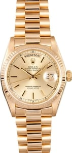 Mens Used Rolex Day Date 18038
