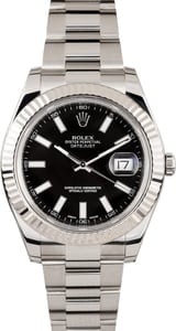 Mens Rolex 41MM DateJust II 116334