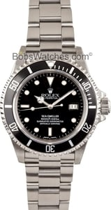 Rolex Sea-Dweller 16660 Stainless at Bob's Watches