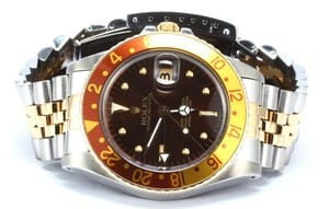 Rolex GMT-Master Model 16753 Brown Dial