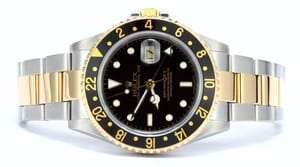 Rolex GMT Master II 16713 Watch Gold thru Clasp