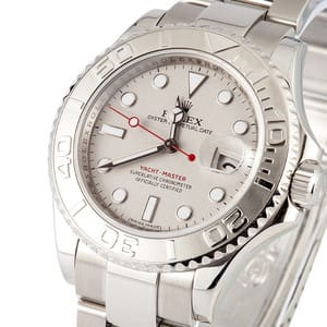 Rolex Platinum Yachtmaster Certified Pre Owned