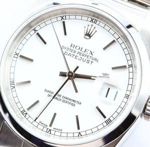 Rolex Datejust Smooth Bezel 16200