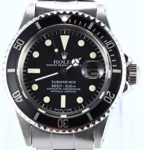 Vintage Rolex Submariner 1680 at Bob's Watches
