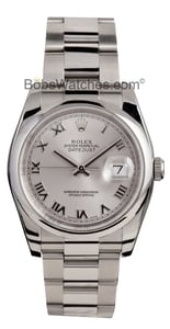 Pre-Owned Men's Rolex Datejust Stainless 116200