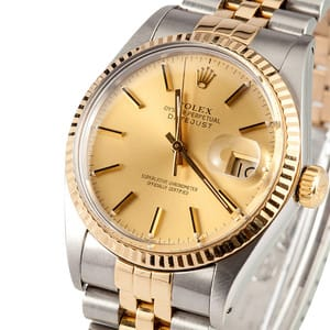 Two Tone Rolex Datejust 16013 4