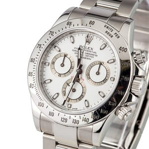 New Rolex White Daytona 116520