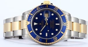 Rolex Two Tone Submariner 16613 5