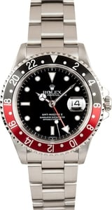 Used Men's Rolex GMT-Master II Stainless Steel Model 16710