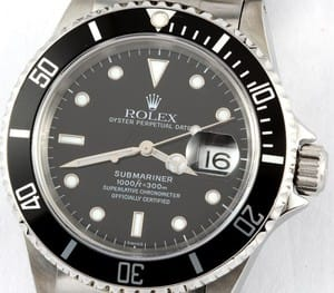 Rolex Submariner Black 16610 BLNR