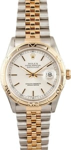 Rolex Thunderbird DateJust Steel and 18K