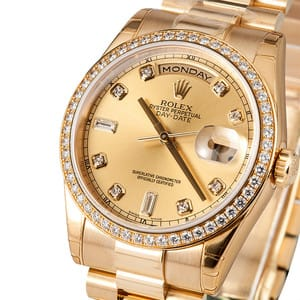 Rolex Day Date Masterpiece 118348