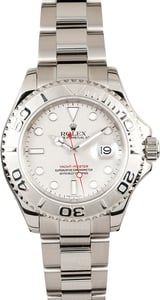 Pre-owned Rolex Men's Yachtmaster Steel 16622