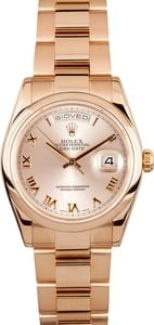 Rolex Day Date 118205 Rose Gold