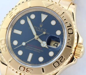 Rolex Yachtmaster 18k Gold 16628