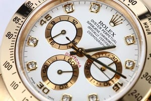 Rolex Daytona White Diamond Dial 116528