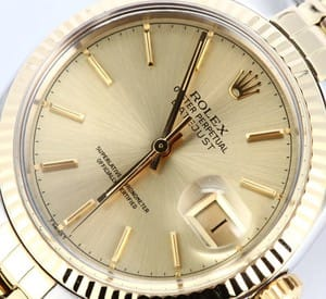 Rolex Datejust 16013 Mens Two tone