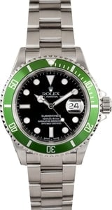 Rolex Men's Submariner Green Anniversary Edition 16610
