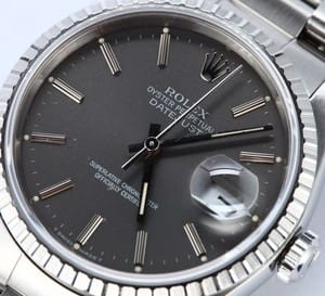Rolex Pre-owned Mens Steel Datejust 16220
