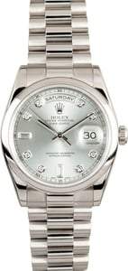 Rolex Platinum Day Date