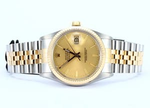 Datejust Rolex Stainless/Gold 16013