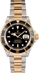 Men's Pre-Owned Rolex Submariner Transitional 16803