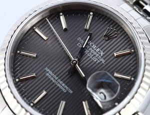 Rolex Men's Steel Tapestry Dial DateJust 16234