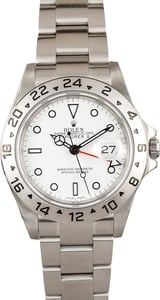 Pre-Owned Men's Rolex Explorer II 16570BKSO