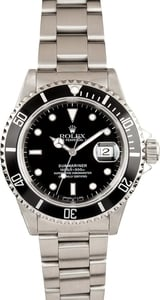 Men's Submariner Rolex Black 16610