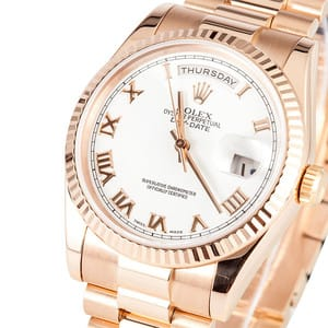 Rolex Presidential Rose Gold 118205