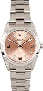 Rolex Air King 14000M Salmon Dial