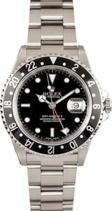 Pre-Owned Men's Rolex GMT-Master II Model 16710