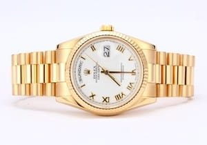 Pre-Owned Rolex President 18K Gold Day-Date 118238