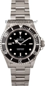 Pre Owned Mens Rolex Submariner 14060M No Date
