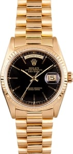 Rolex President Gold Day Date 18238 Champagne