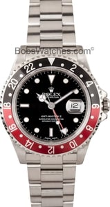 Men's Rolex GMT Master II Coke Bezel 16710
