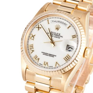 Rolex 18K YG Mens Day Date 18238