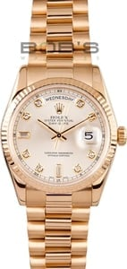 Presidential Rolex Day Date 118238 Diamonds