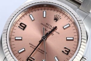 Rolex Air-King Steel 114234 Salmon Dial