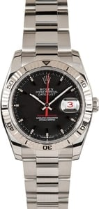 Datejust Rolex Thunderbird Black 116264