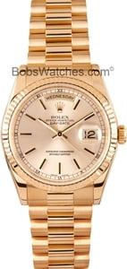 Men's Used Rolex President Gold Day-Date 118238